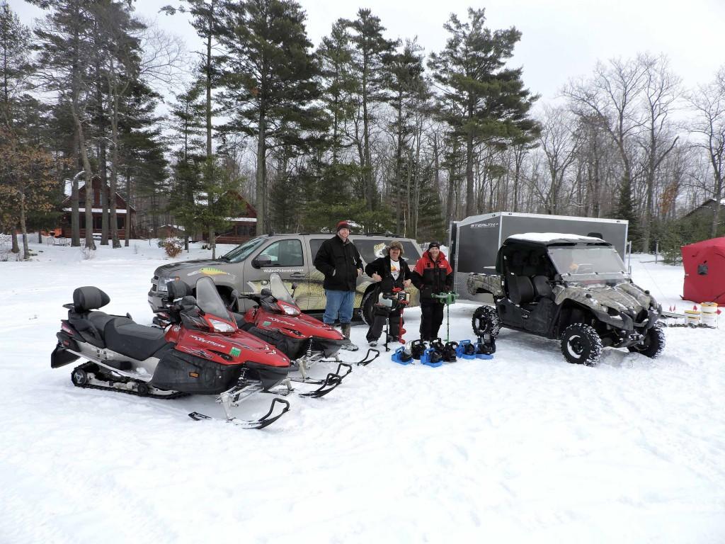 Grand pines resort guide team hayward wisconsin fishing for Wisconsin ice fishing resorts