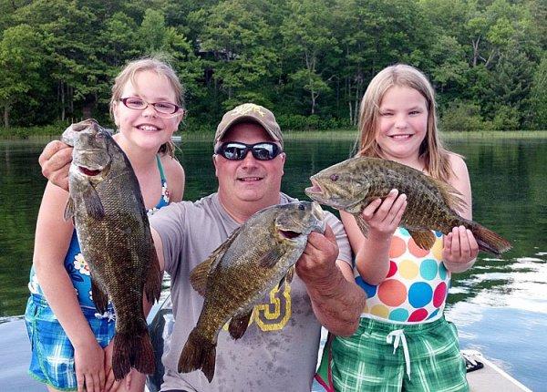 Hayward Wisconsin Resort Fishing Vacation